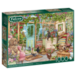 Country Conservatory 1000 Piece Jigsaw Puzzle