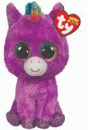 Rosette Purple Unicorn   Ty Boo Plush