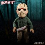 "Jason Voorhees With Sound Feature - 15"" Doll - Mezco"