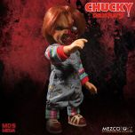 "Talking Pizza Face Chucky - Child's Play 3 - 15"" Doll - Mezco"
