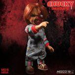 """Talking Pizza Face Chucky - Child's Play 3 - 15"""" Doll - Mezco"""