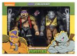 Bebop & Rocksteady Action Figure 2 Pack - Teenage Mutant Ninja Turtles Cartoon - NECA