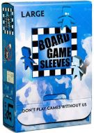 Large (Fits 59x92mm cards) Non-Glare Board Game Sleeves (50) - Dragon Shield
