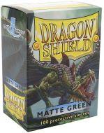 Green 'Drakka Fiath' Matte Standard (100 Sleeves) - Dragon Shield