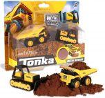 Mighty Dump Truck & Bulldozer | Metal Mini Movers Combo Pack | Tonka