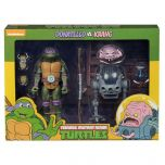 Donatello vs Krang- NECA Teenage Mutant Ninja Turtles Cartoon 2 Pack Action Figure
