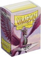 Pink 'Christa' Matte (100 Standard card Sleeves) - Dragon Shield
