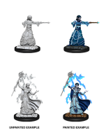 Elf Wizard (She, Her, They, Them) - Dungeons & Dragons Nolzur's Marvelous Miniatures - Wizkids