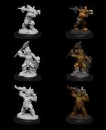 Goblins & Goblin Boss - Dungeons & Dragons Nolzur's Marvelous Miniatures - Wizkids