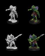 Sahuagin - Dungeons & Dragons Nolzur's Marvelous Miniatures - Wizkids