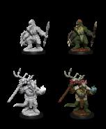 Lizardfolk & Lizardfolk Shaman - Dungeons & Dragons Nolzur's Marvelous Miniatures - Wizkids