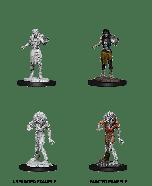 Drowned Assassin & Drowned Ascetic | D&D Nolzur's Marvelous Unpainted Miniatures (W14) | Dungeons & Dragons