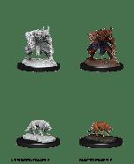 Jackalwere & Jackal | D&D Nolzur's Marvelous Unpainted Miniatures (W14) | Dungeons & Dragons