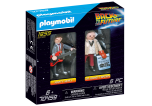 Marty Mcfly and Dr. Emmett Brown -  Back to the Future  Playmobil 70459