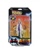 Doc Brown and Einstein - Toony Classics - BTTF - NECA