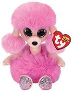 Camilla Pink Poodle Beanie Boo - TY