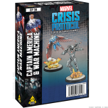 Captain America and War Machine   Character Pack   Marvel Crisis Protocol