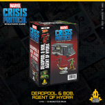 Deadpool & Bob, Agent of Hydra   Character Pack   Marvel Crisis Protocol