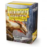 White Classic (100 standard size card Sleeves) - Dragon Shield Classic