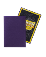 Purple Matte Sleeves   Japanese Sized   Dragon Shield