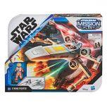 X-wing Fighter With Luke Skywalker Figure | Stellar Class  | Star Wars: Mission Fleet