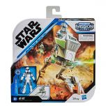 AT-RT With Captain Rex Figure | Expedition Class | Star Wars: Mission Fleet