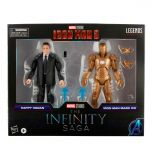 """Happy Hogan and Iron Man Mark Mark XXI 