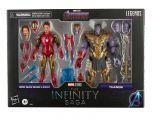 "PRE-ORDER: Iron Man Mark LXXXV and Thanos | Avengers: Endgame | The Infinity Saga | 6"" Scale Marvel Legends Series Action Figure"