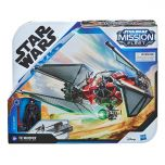 TIE Whisper With Kylo Ren Figure | Stellar Class | Star Wars: Mission Fleet