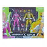 PRE-ORDER: Morphed Michelangelo and Morphed April O'Neil   Power Rangers X Teenage Mutant Ninja Turtles Lightning Collection