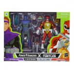 PRE-ORDER: Foot Soldier Tommy and Morphed Raphael   Power Rangers X Teenage Mutant Ninja Turtles Lightning Collection