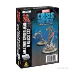 Spider-Man and Black Cat | Marvel Crisis Protocol Miniatures Game