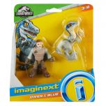 Owen & Blue | Jurassic World | Imaginext