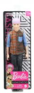 Ken with Purple Hair and Color-Blocked Plaid Shirt Fashionista #154