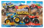 Monster Portions VS. Tuong ot Sriracha | Demolition Doubles | Hot Wheels Monster Trucks