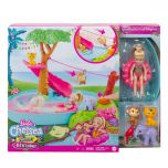 Splashtastic Pool Surprise Playset | Barbie and Chelsea The Lost Birthday