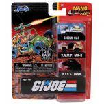 G.I. Joe 3 Vehicle Set   NANO Hollywood Rides