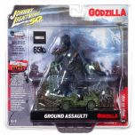 Ground Assault! - Godzilla - Johnny Lightning Diorama And 1:64 Vehicle