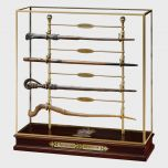 Triwizard Champions Wand Set | Display Case with Wands | Harry Potter | Noble Collection