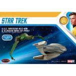 USS Grissom & Klingon Bird of Prey - 1:1000 Model Kit - Star Trek: The Original Series