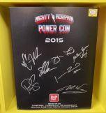 Signed Turbo Falcon Megazord | Power Rangers | Power Con 2015 (A)