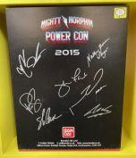Signed Turbo Falcon Megazord | Power Rangers | Power Con 2015 (B)