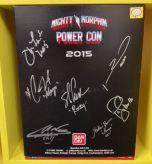 Signed Turbo Falcon Megazord | Power Rangers | Power Con 2015 (C)