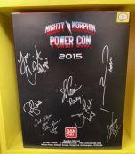 Signed Turbo Falcon Megazord | Power Rangers | Power Con 2015 (D)