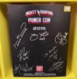Signed Turbo Falcon Megazord | Power Rangers | Power Con 2015 (E)