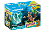 Scooby and Shaggy with Ghost - Scooby Doo! Playmobil 70287