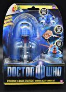 Cyberrman vs Dalek Strategist Temporal Blast Combat Set - Doctor Who