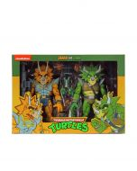 Captain Zarax And Zork | Action Figure 2 Pack | Teenage Mutant Ninja Turtles Cartoon | NECA