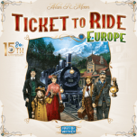 Ticket to Ride   Europe   15th Anniversary Collector's Edition