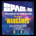 Wargames:  Laser Damaged Eagle Transporter and HAWK Spaceship | Space: 1999
